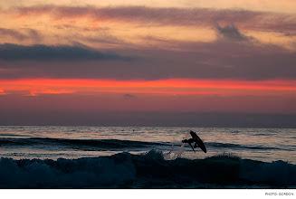Photo: Photo of the Day: Nico Traubman, California. Photo: Gordon  #Surfer #SurferPhotos