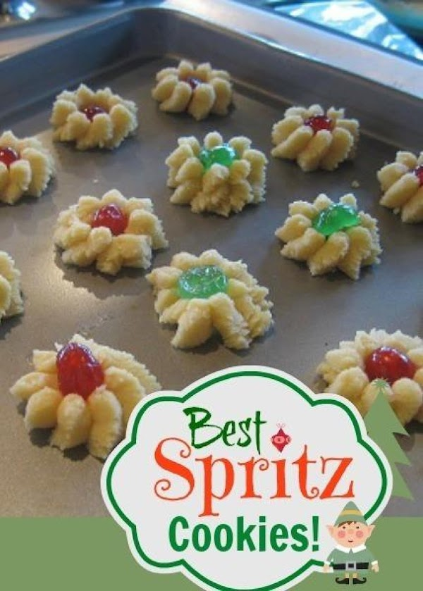 Spritz Cookie Dough Recipe