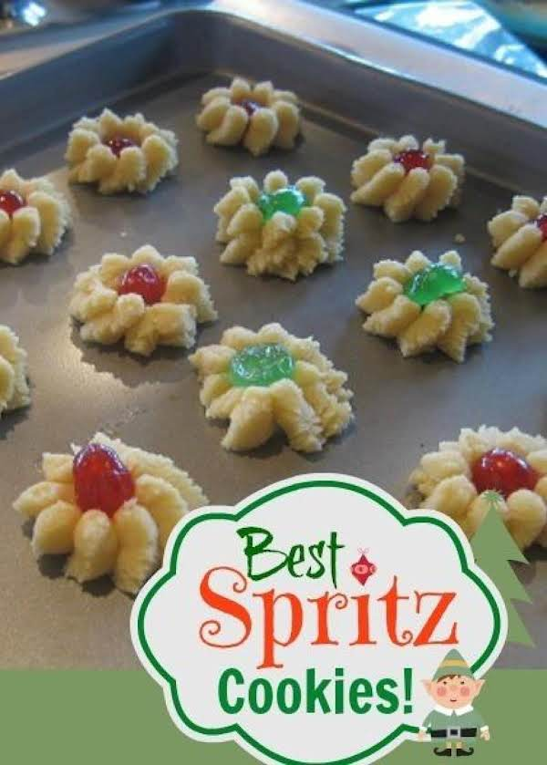 Spritz Cookie Dough Recipe