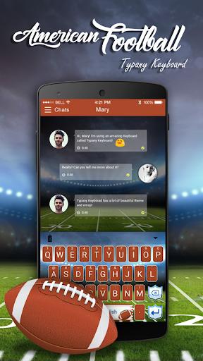 mod American Football Emoji Theme 2.5 screenshots 1