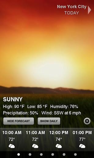 Weather HD screenshot 1