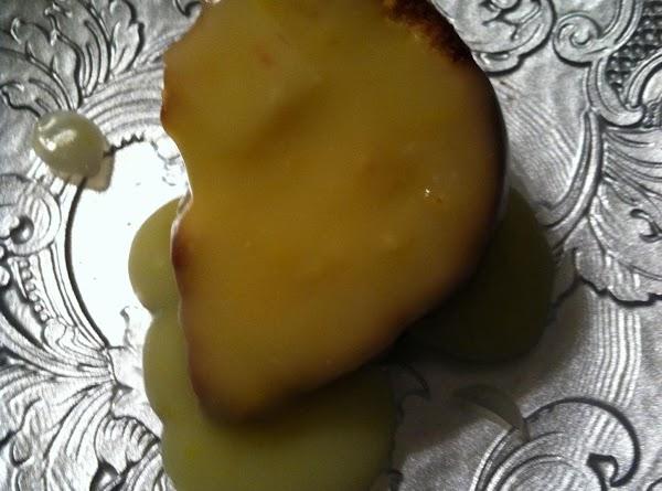 Lemon Pound Cake With Warm Lemon Sauce Recipe