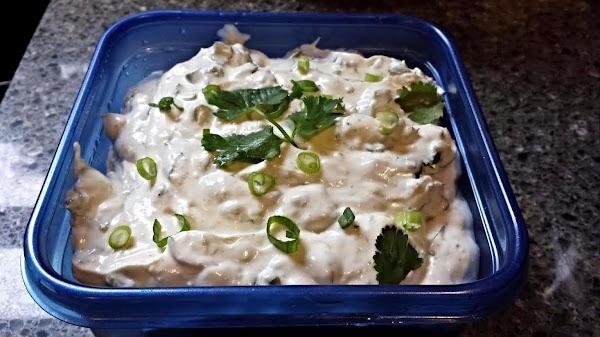 Refreshing Savory Lime Dip Recipe