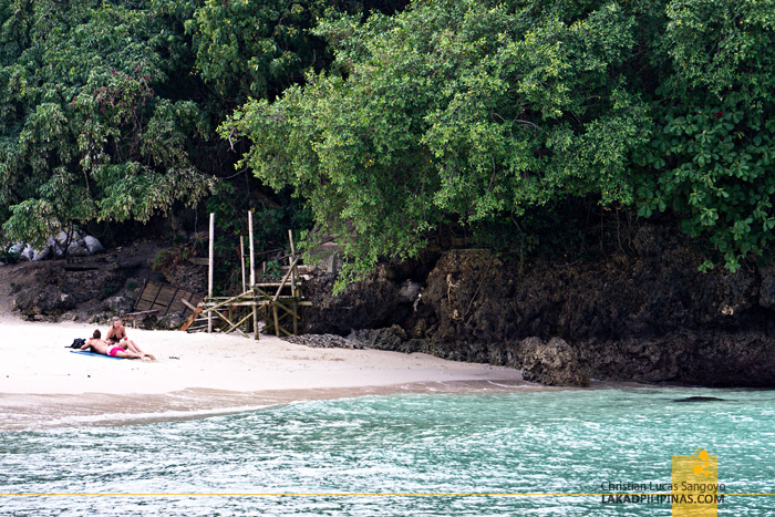 Boracay  Island Hopping Tour Punta Bunga Beach
