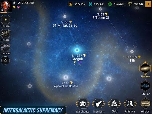 Infinite Galaxy - Empire, starcraft, sci fi, mmo apkpoly screenshots 15