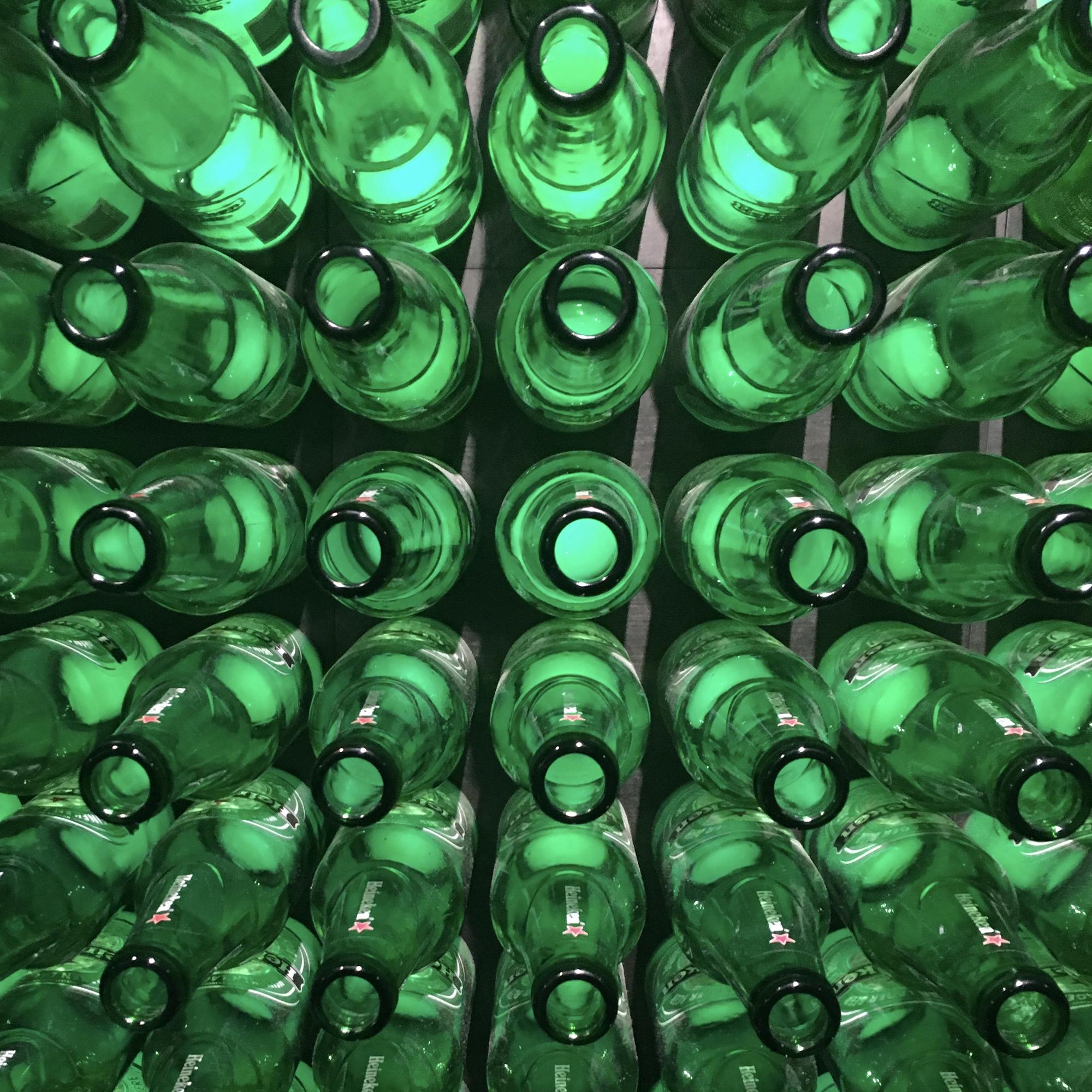 Green bottles di maddalena_sacco