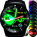 Laserslime animated watch face icon