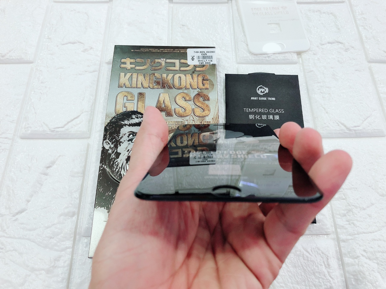Kính cường lực chống va đập KingKong cho iPhone 7/8 Plus