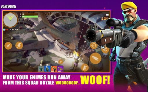 Fort Squad Royale Battle android2mod screenshots 3