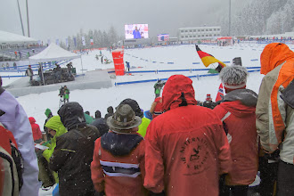 Photo: 2 Wochen später dort: Weltcup Biathlon