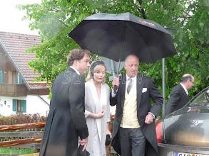Photo: Fürstin Katharina and Fürst Karl Friedrich of Hohenzollern