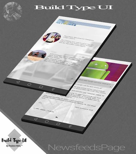 Build Type UI Kustom Pro/Klwp screenshot 3