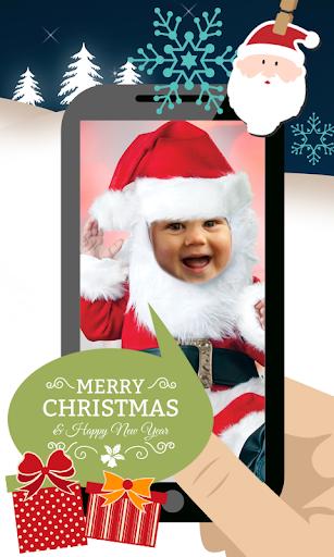 Christmas Baby Costume Montage