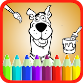 Scooby Dog Coloring Book Doo