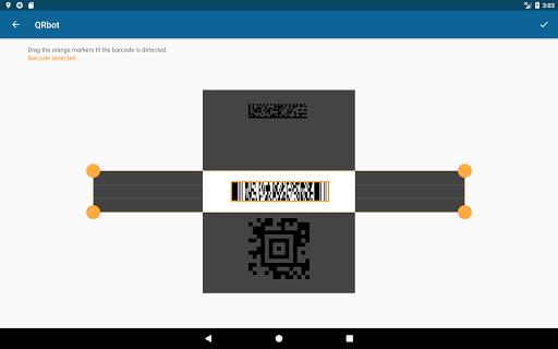QRbot: QR code reader and barcode reader  screenshots 13