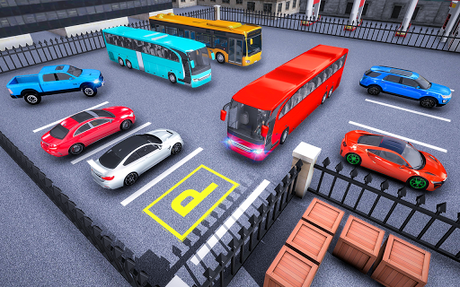 Modern Bus Parking Adventure - Advance Bus Games apkdebit screenshots 3