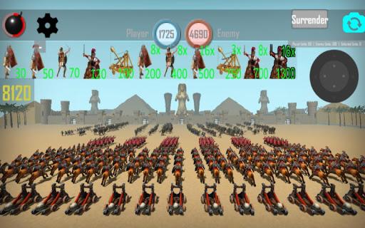 CLASH OF MUMMIES: PHARAOH RTS apkdebit screenshots 1