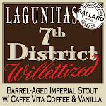Lagunitas 7th District Willettized W/Coffee & Vanilla