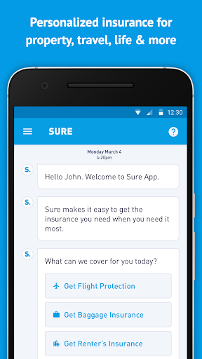 Sure - Insurance On-Demand|玩財經App免費|玩APPs