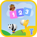 Counting for kids - Count with animals icon