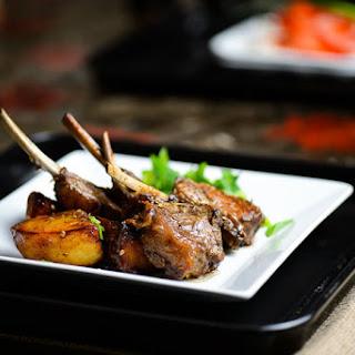Seared Lamb Chops and Potatoes