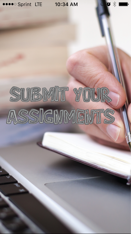 Submit Your Assignments- screenshot