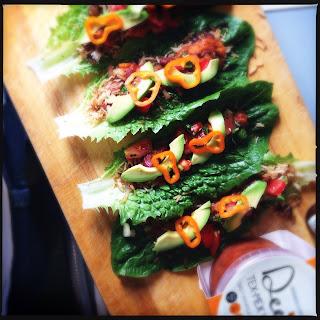 Lettuce Tacos with Dee's Tex Mex Pot