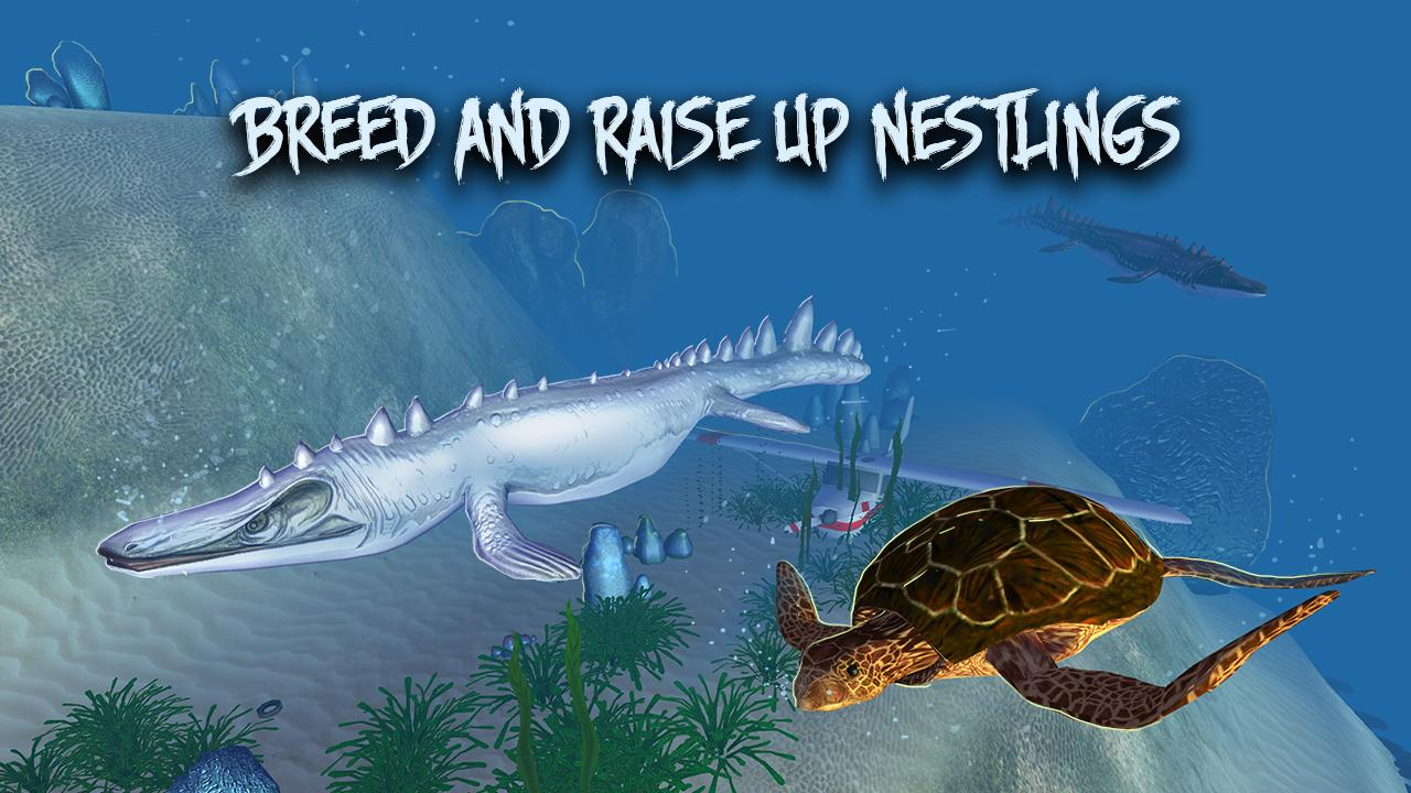 Megalodon vs Dino: Sea Monsters Battle- screenshot