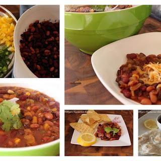 Zero Oil Vegetarian chili / chili sin carne – DFT