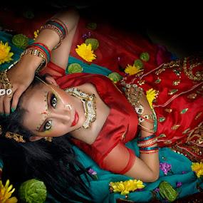 Eyes of Mantra by Mas Arey - Digital Art People ( fashion, art, modelling, people, digital )