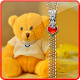 Teddy bear Zipper Lock