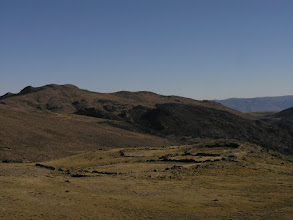 Photo: Stone corals in the high Andes.