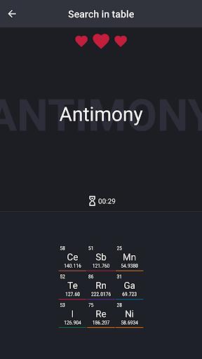 Periodic Table - Game apktram screenshots 5