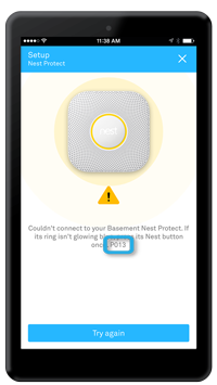 app protect setup highlighted