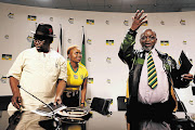 Enoch Godongwana and Lindiwe Zulu, and Gwede Mantashe.