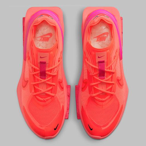 The Women's Nike Fontanka Edge Explodes In Red