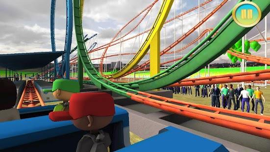 6 Real Roller Coaster Simulator App screenshot