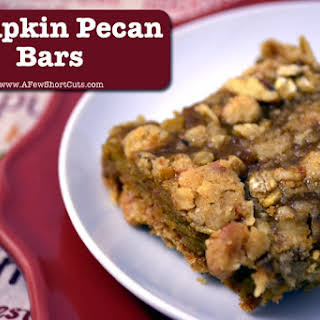 Pumpkin Pecan Bars.