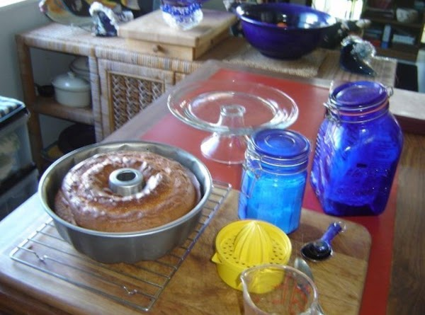 """Preheat oven to 350. Grease and flour (or use cooking spray) 10"""" bundt pan..."""