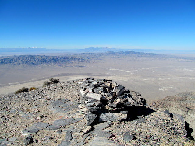 Cairn on top of Notch Peak
