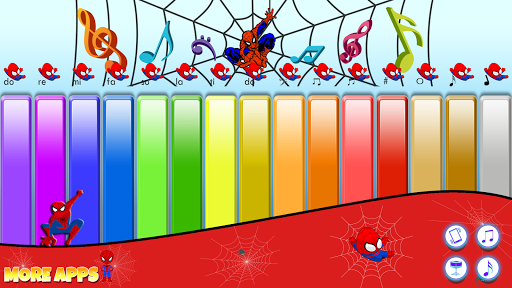 Spider Kids Piano