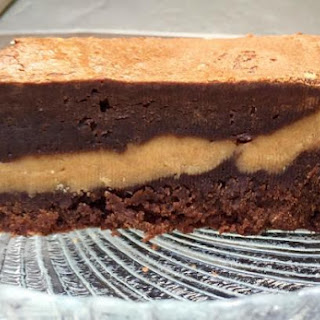 Peanut Butter Filled Brownies