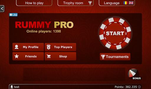 Rummy PRO - Remi Pe Tabla 5.0.5 screenshots 9