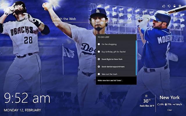 Baseball Hd Wallpapers Mlb New Tab Theme