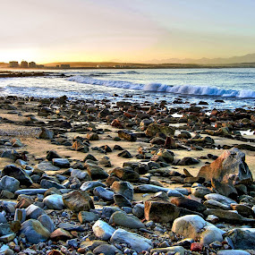Rocky Shores by Stephen Fouche - Landscapes Beaches