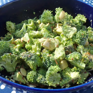 Broccoli Salad in the Raw
