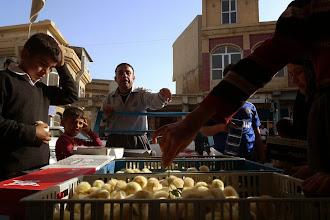 Photo: Chicken seller, Koye, 2015
