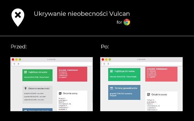 Ukrywanie nieobecności z e-dziennika Vulcan