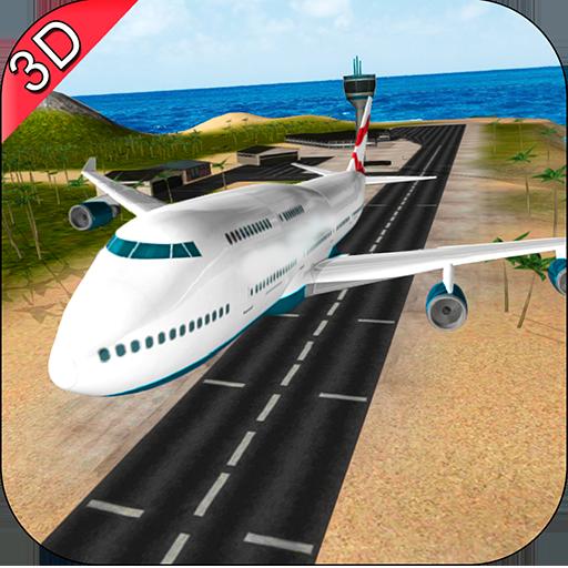 Futuristic Plane Flying Simulator 2017