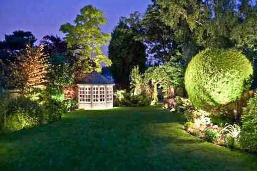 ガーデン照明デザイン